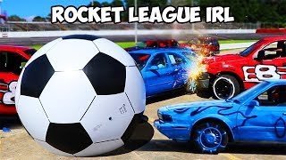 Playing Soccer With Real Life Cars