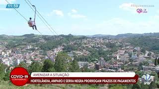 SBT VTV - Hortolândia, Amparo e Serra Negra prorrogam prazos de pagamentos do IPTU