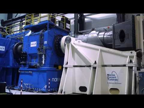 Marine Current Turbine 1MW Powertrain Testing