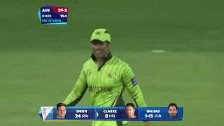 QF 3: AUS vs PAK: Pak fight back, Aussies lose 3 wickets