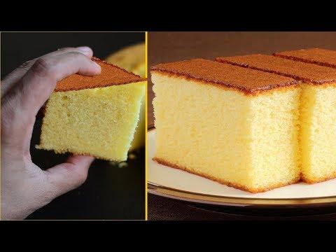 ★ Easy Sponge Cake | Happy Birthday Cake | How to make Sponge Cake | Recipes @ Guru's Cooking