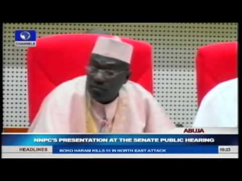 Missing $20bn: NNPC Makes Presentation During Senate Public Hearing Pt.3