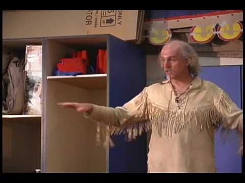 "An Indian Sign Language Workshop By ""Buffalo Bill"" Boycott"