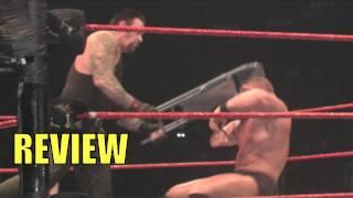 Wrestlemania 30: The Undertaker vs. Brock Lesnar Streak on the line Full Fight Full Match REVIEW
