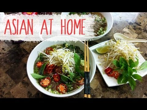 Pho Recipe : Pho Bo (Vietnamese Beef Noodle Soup Recipe) : What is Pho? : Asian at Home