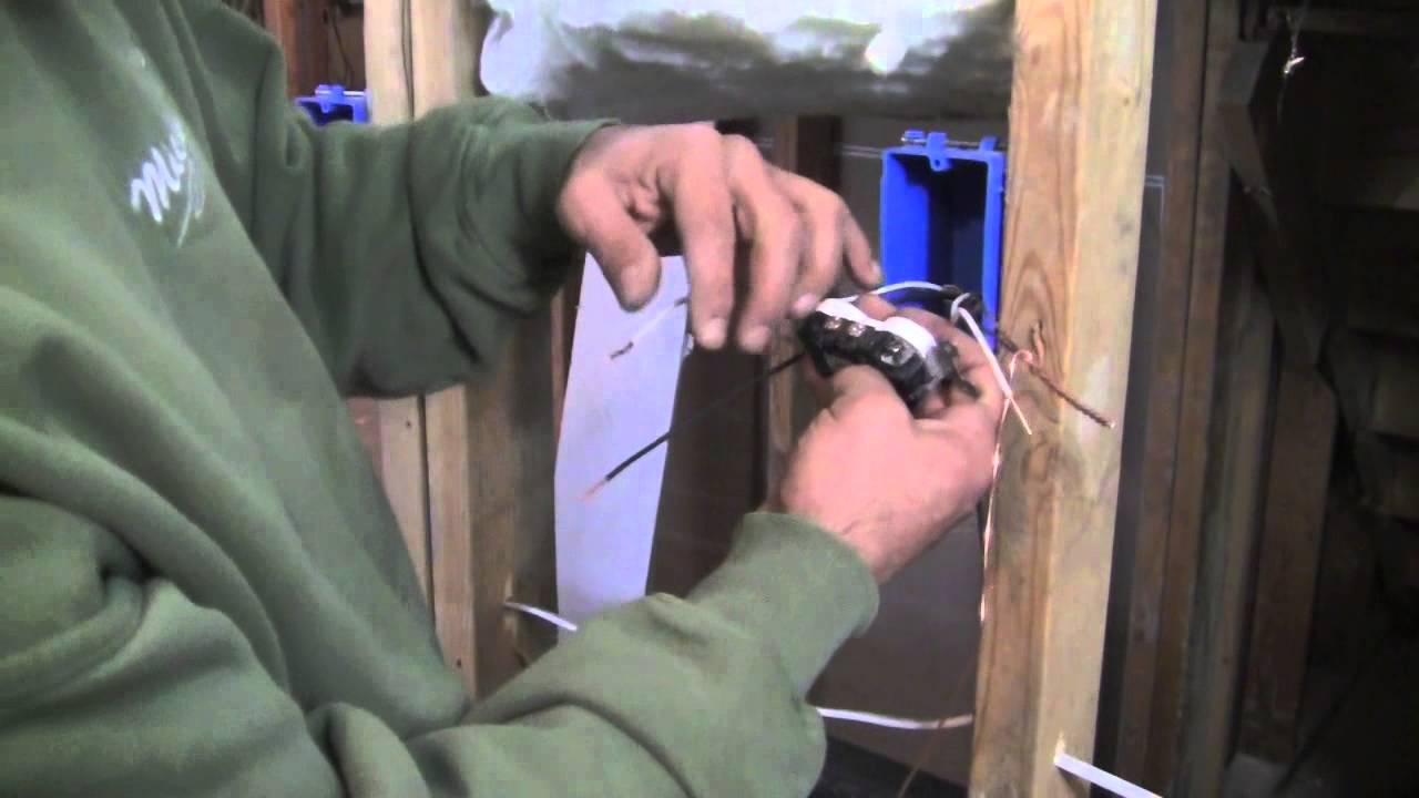 How To Install A 120 Volt Outlet