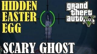 GTA 5 Scary 'GHOST' Easter Egg Secret! (Location