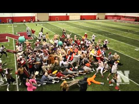 Husker Football First Day of Spring Practice