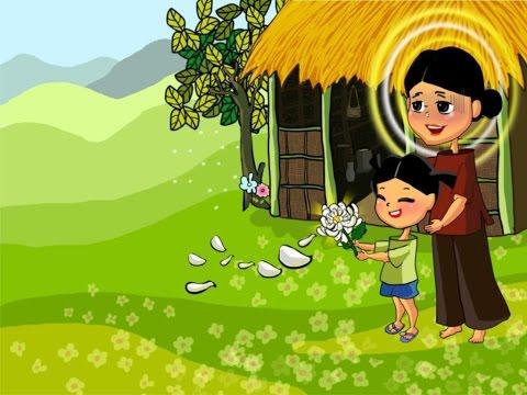 Cô Sơn Ca Kể Chuyện - BÔNG HOA CÚC TRẮNG (Truyện Cổ Tích)