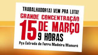 CHAMADA - GREVE GERAL DIA 15 -