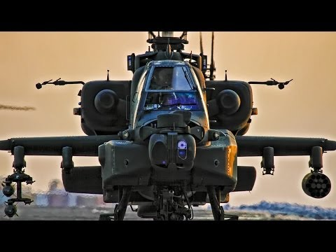 Apache Helicopters In Action - Combat Footage