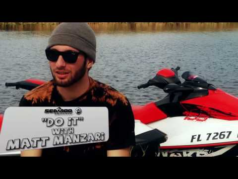 DO IT with Matt Manzari Nike 6.0 behind the 2010 Sea-Doo WAKE PRO 215 with a Backside 180
