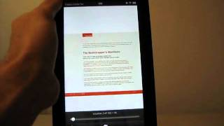Reading PDFs On The Kindle Fire REDUX (Using The Adobe