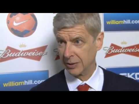 Arsène Wenger FA Cup Semi Final v Wigan - Post Match Interview