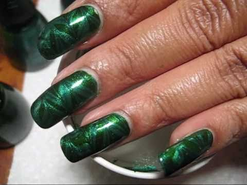 Green Water Marble for Depression Awareness (2010) Nail Art Tutorial - YouTube, Did you know that October is National Depression Awareness Month? Learn more about depression here: http://www.nimh.nih.gov/health/publications/depression/co...