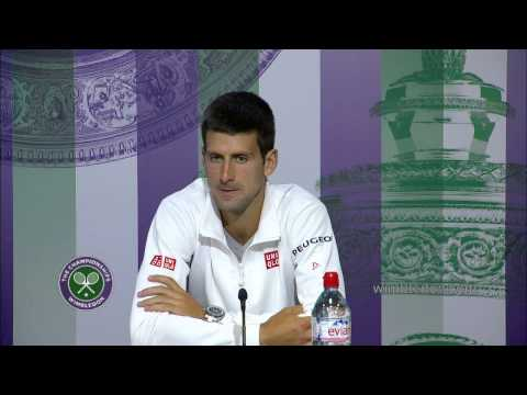 Novak Djokovic: 'it's important to win' Wimbledon 2014
