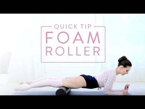 Ballet Beautiful: Quick Tip - Foam Roller