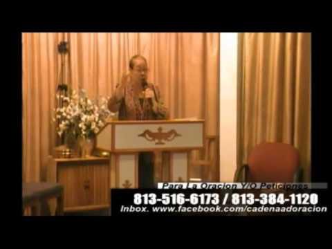 Culto Evangelistico Concilio Pentecostal Senda Antigua A.M.I.P. Tampa Florida USA. 0-25-14