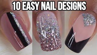 10 ideas fáciles para decorar tus uñas