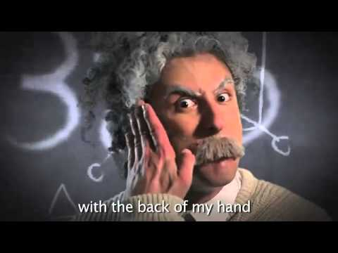 Epic Rap Battles of History 7 - Einstein vs Stephen Hawking SUB ITA