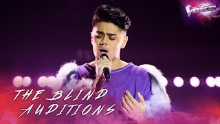 Blind Audition: Sheldon Riley sings Do You Really Want To Hurt Me | The Voice Australia 2018