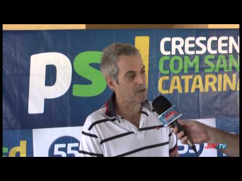 Encontro PSD -  Entrevista com vice-prefeito de Rio dos Cedros, Marildo Fellipe