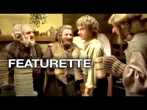 The Hobbit: An Unexpected Journey Featurette - Dinner Party (2012) - Peter Jackson Movie HD