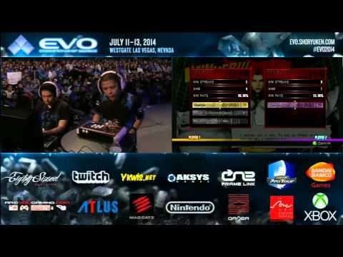 UMVC3 EVO 2014 Top 8 Part 1
