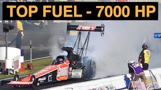 Gumout Top Fuel Dragster 7000 HP Explained