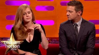 Amy Adams Cries On Cue – The Graham Norton Show