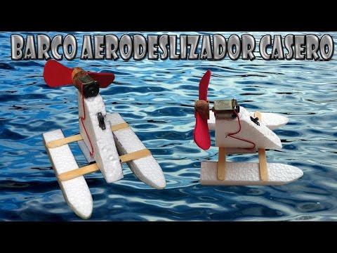 Como Hacer un Barco Aerodeslizado Casero (Barco Eléctrico)