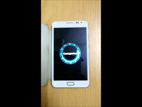 CyanogenMod based Boot Animation on rooted Android 4.2.2 Galaxy Note GT-N7000