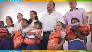 Reafirma Ramón Guerrero su compromiso con la educación