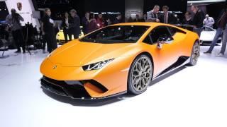 Такого быстрого Lamborghini Huracan еще не было – Perfomante // Женева 2017. АвтоВести выпуск Online. Видео Авто Вести Россия 24.