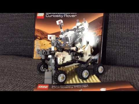 Lego 21104 NASA Mars Curiosity Rover (review & timelapse build)