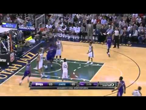 Isaiah Thomas TOSS Up   Sacramento Kings vs Utah Jazz   December 7  2013   NBA 2013 14 Season