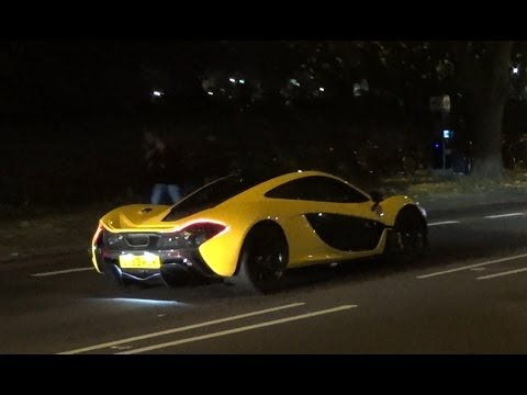 EXCLUSIVE MCLAREN P1 ON LONDON ROADS 2013!! Revs