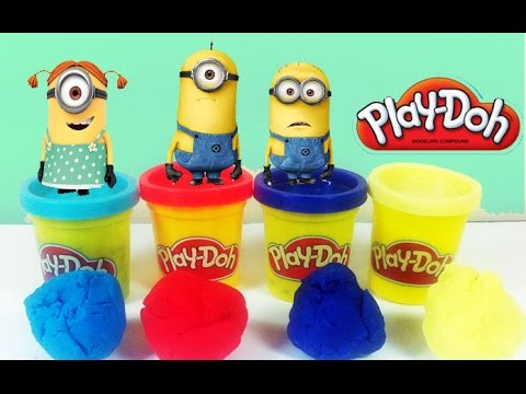 Surprise Eggs Minions Kinder Surprise Play Doh Disney Huevo Kinder sorpresa
