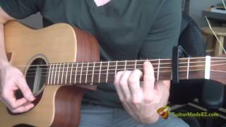 Gordon Lightfoot Sundown Guitar Lesson (Guitar Chords