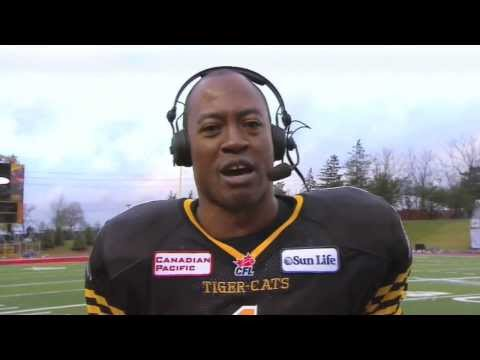 Henry Burris post-game interview - November 10, 2013