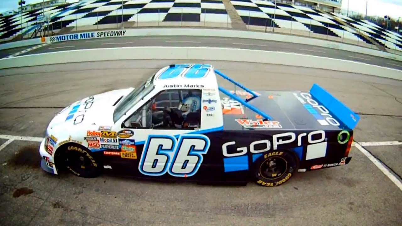 GoPro HD: NASCAR Camping World Truck Series with Justin Marks ...