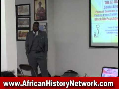 The 7 Deadly Sins - Science Of Racial Extermination -  Dr. Umar Johnson - Part 1