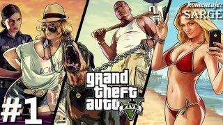 Zagrajmy W GTA 5 (Grand Theft Auto V) Odc. 1 Witamy W