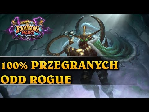 100% PRZEGRANYCH - ODD ROGUE - Hearthstone Decks std (The Boomsday Project)