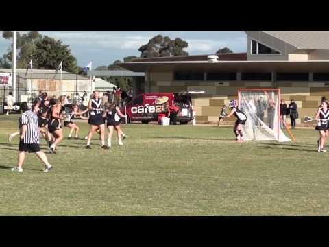 U18 Aus Women's Lacrosse Vic vs WA 19 Apr 2014