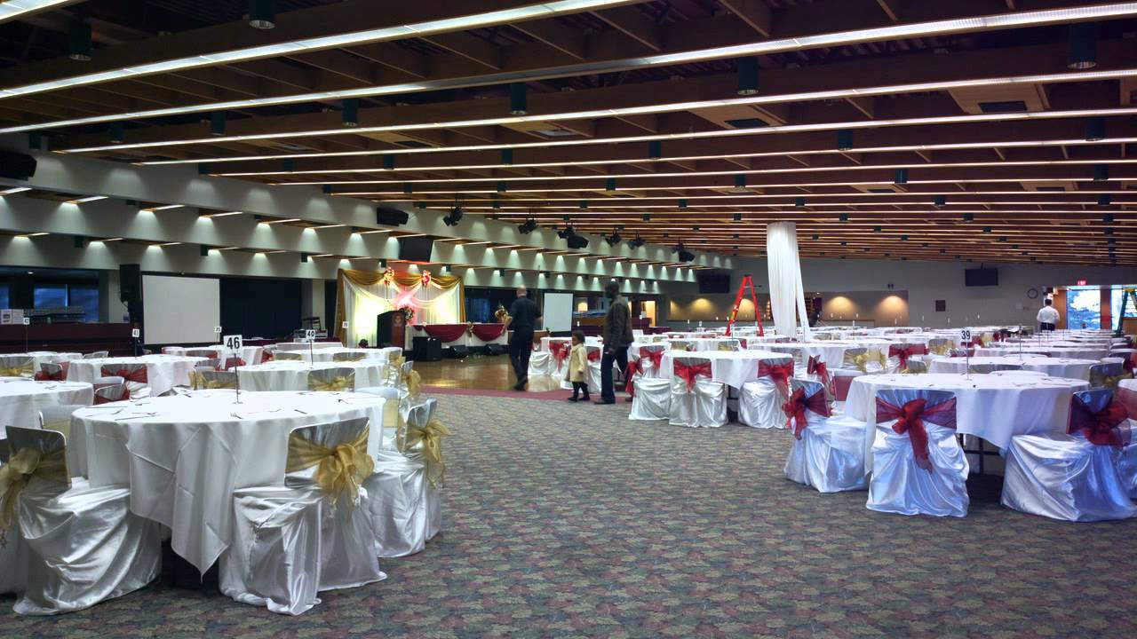 Wedding decoration ideas banquet hall decorations by for Hall decoration