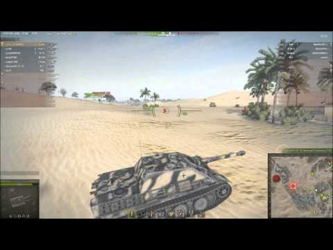 World of Tanks Ba-Dum Ts! on Sand River