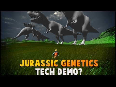 Jurassic Genetics | Prototype Tech Demo ... Thing.