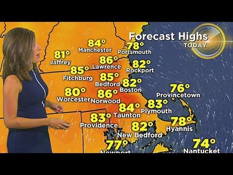WBZ Morning Forecast For September 13