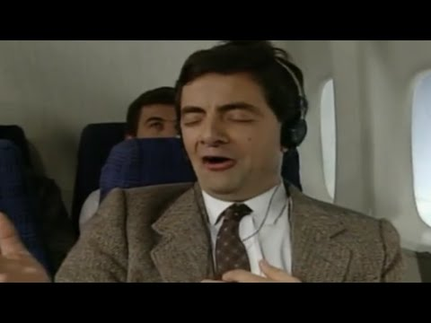 On a Plane with Mr Bean image